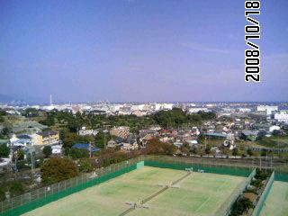 日本平から太平洋の眺め